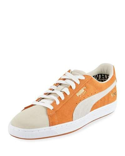 b42307884c9a Puma Men s Bobbito Two-Tone Suede Low-Top Sneakers