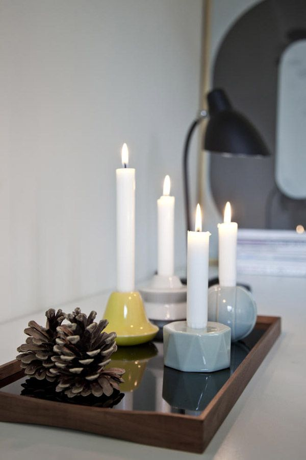 Candelina by Kähler via that nordic feeling