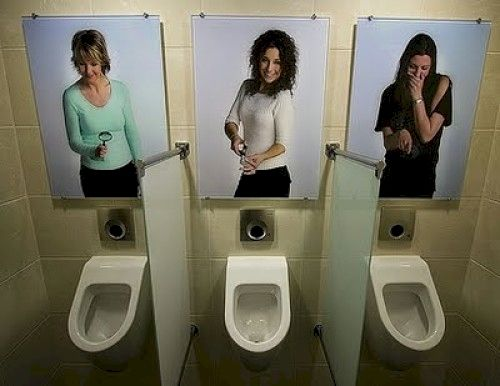 Bathroom Sign Location 19 best incredible urinals images on pinterest | toilets, strange