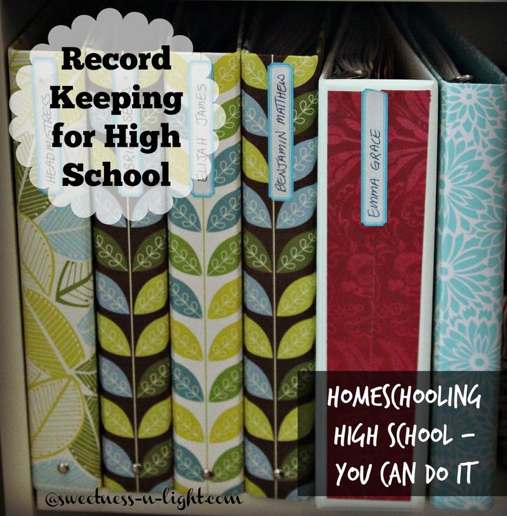 Record Keeping Tips and Ideas for Home Schooling High School - Find out more in my new ebook Homeschooling High School: It's Not As Hard As You Think!