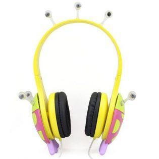 Vcom Çocuk Kulaklık - Uğur Böceği Pembe Sarı #oyuncak #alışveriş #indirim #trendylodi   #anne  #çocuk #bebek