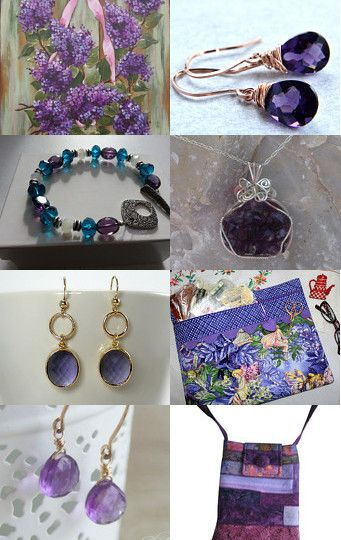 Lovely Lilac for Spring, from the Handmade by Me Team by Donna on Etsy--Pinned with TreasuryPin.com