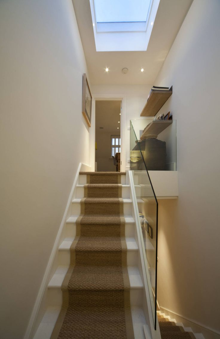 Best Stair To The Loft Scandinavian Style Corridor Hallway 400 x 300