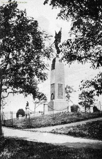 War memorial (Angel Hill) Boggart Hole Clough 1920, Blackley, Manchester.