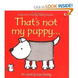 Amazon.com: That's Not My Puppy: Its Coat Is Too Hairy (Usborne Touchy Feely) (9780746037782): Fiona Watt, Rachel Wells: Books - requested
