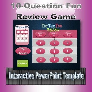 Find out what your students know quickly with this teacher friendly and engaging game. Remember the old tic-tac-toe game? Just divide the class into two groups, the X's and the O's to let the fun and learning begin. Your students will love typing in their