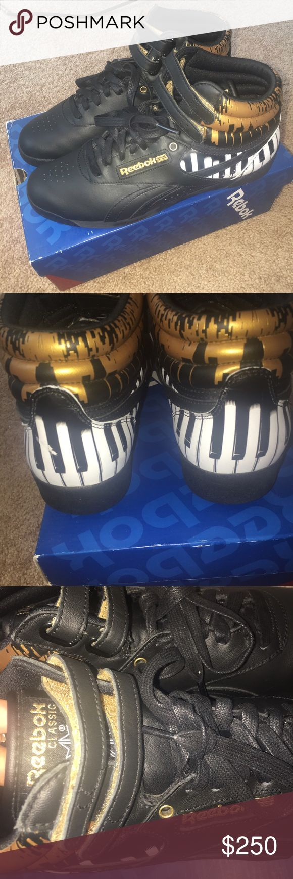 Alicia keys piano limited edition reeboks Up for sale in great condition worn twice very comfortable shoe Reebok Shoes Sneakers