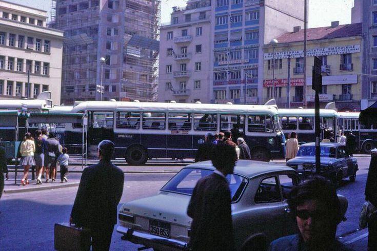 Kanningos square, in '60s