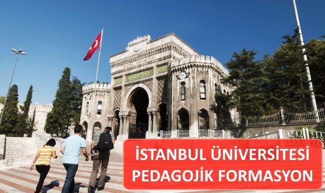 İstanbul Üniversitesi Pedagojik Formasyon