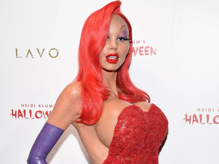 Heidi Klum Dressed as Jessica Rabbit Is Terrifying for All the Wrong Reasons - Racked