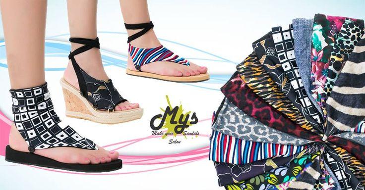 """https://www.facebook.com/MYSSalou/timeline Oferta de la Semana! 20% de Descuento en Calcetines! Mys Sandals! lo más """"Chic"""" de este verano para tus pies... Crea tu propio estilo"""