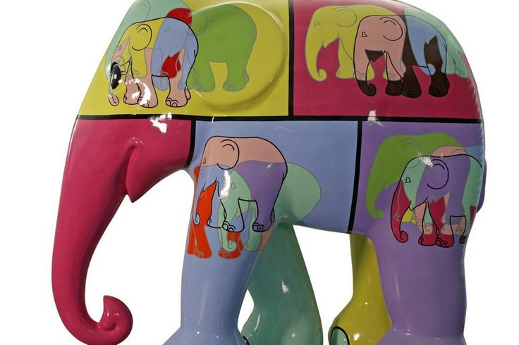 Elephant Parade marches into Cardiff for three-week visit
