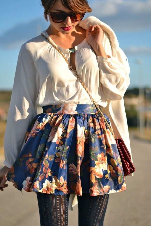 Florals Are Going To Be Spring Favorites! - Floral Skirts