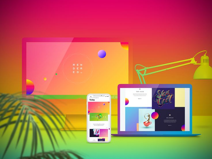 Free Web Showcase / Mockup Creator