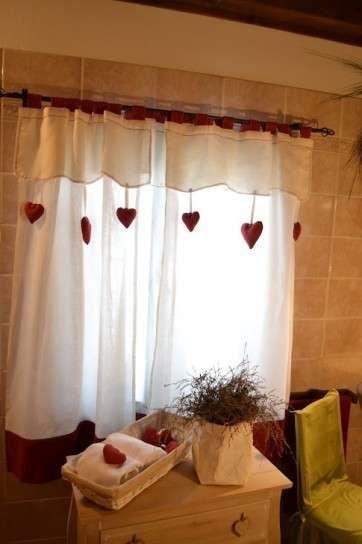 cortinas de cocina fotos de diseos cortinas para la cocina estilo rstico