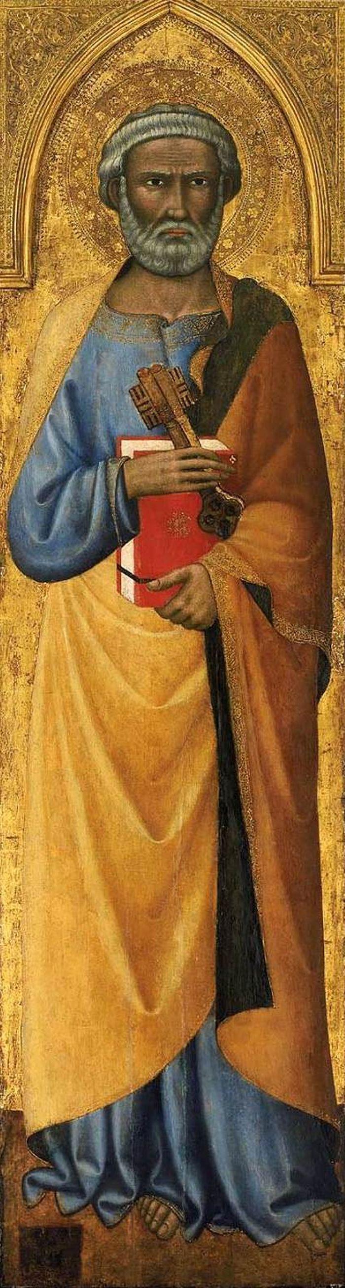 St Peter : ANDREA di Vanni d'Andrea : Art Images : Imagiva