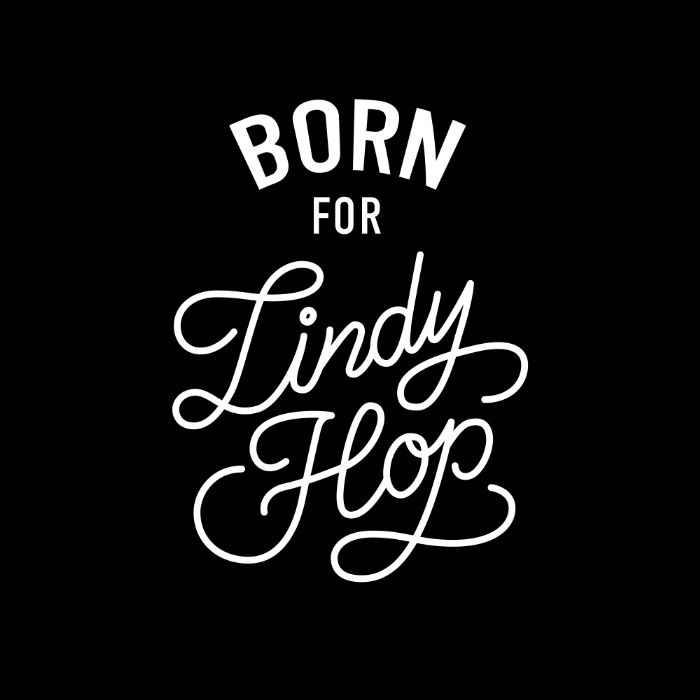 Born For Lindy Hop Art Print