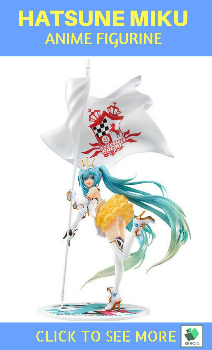 Hatsune Miku Racing Action Figurine| $40 . Our beloved Hatsune Miku-sama is performing on race competition!! Look on her  sexy and stunning outfit. You can buy this Hatsune Miku Race Figure on https://www.etsy.com/shop/SEBOID and go showing her off to everyone ^^