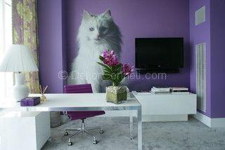 en güzel genc odası duvar dekorasyonu