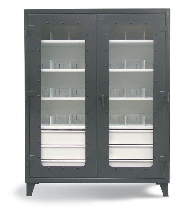 On Site See Thru Cabinet The Combination Slotted Shelf And Drawer For
