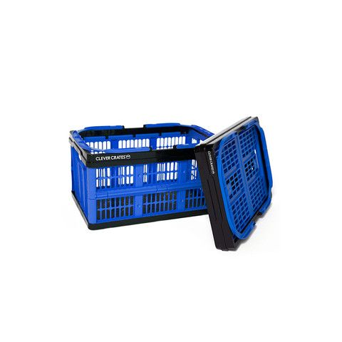 Collapsible Shopping Basket (16 Liter) clever crates.com $10 for shopping, $12 for 32 liter basket, $16 for larger 45 liter