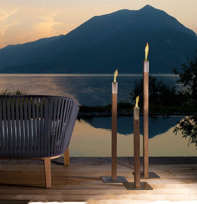 9 best outdoor lighting images on pinterest backyard furniture light up your life after dark with these beautiful torches and lanterns from tribu via the modern garden company workwithnaturefo
