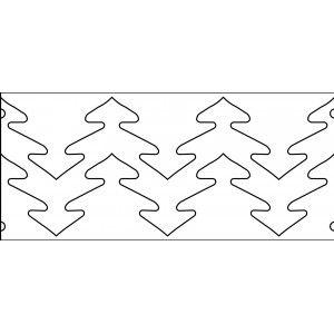 67 best long arm templates images on pinterest appliques hearts 10 inch trees quilt template quilt ez pronofoot35fo Images