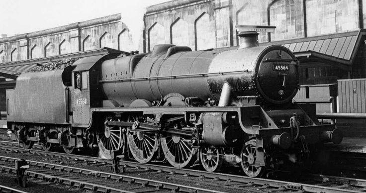 45564 NEW SOUTH WALES at Carlisle, 22 May 1964