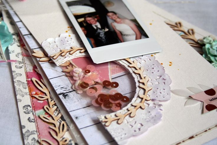 Wedding money transfer mini album by Sophie Ranga