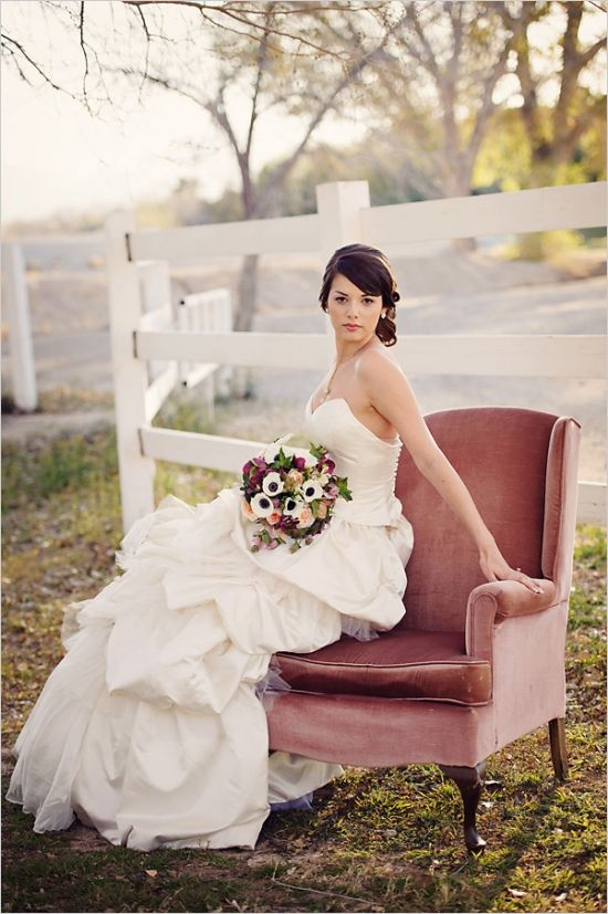 Hair by Kayla St.Vincent Click on the photo to see a great styled enchanted wedding shoot by a great team!  All vendors located in Las Vegas