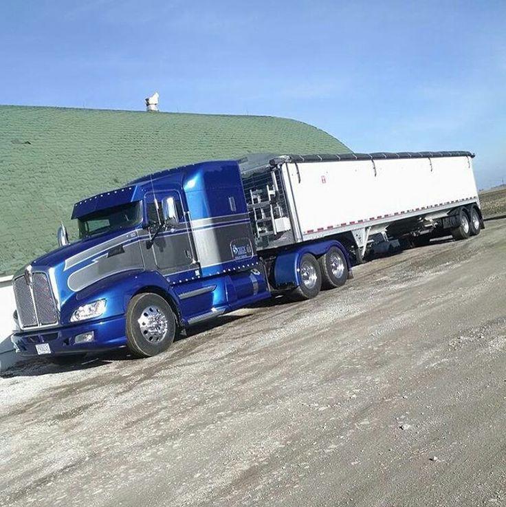 Kenworth custom T680 Truck paint jobs, Big trucks, Big