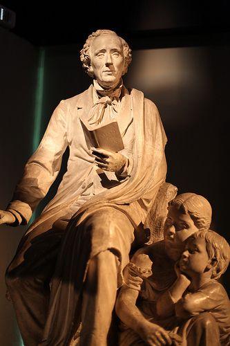 Odense Hans Christian Andersen museum. Denmark