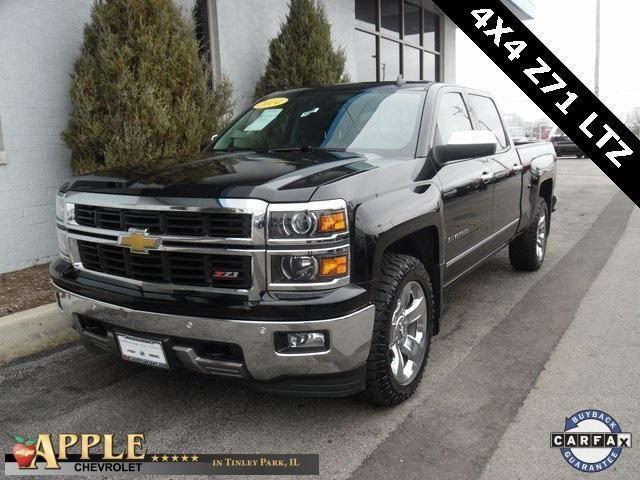 2014 Chevrolet Silverado 1500 LTZ - Certified - Stk # 52896 - $31,388 - http://www.applechevy.com/VehicleDetails/certified-2014-Chevrolet-Silverado_1500-Crew_Cab_Short_Box_4_Wheel_Drive_LTZ_w%2F1LZ-Tinley_Park-IL/2963269563