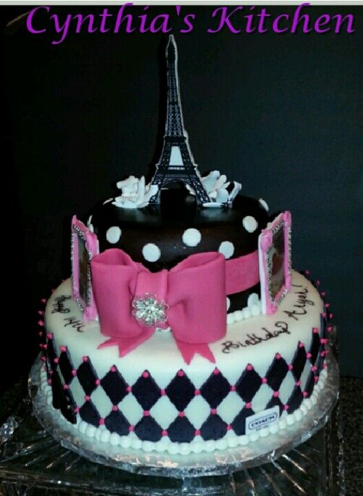 Best Birthday Themed Cakes Images On Pinterest Themed Cakes - Birthday cake paris france