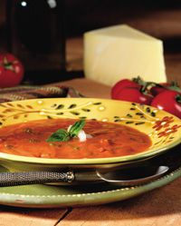 Roast Tomato-Basil Soup (I wonder if this is like Atlanta Bread Company Recipe)
