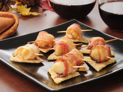Savory Bacon Wrapped Scallops