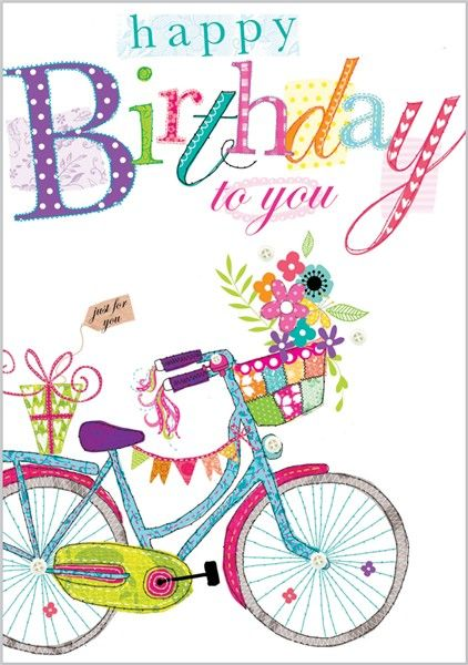 95 best birthday cycling images – Birthdays Card Shop Uk