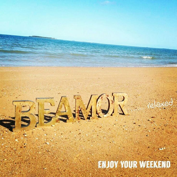 Take time to take care of you. Enjoy your weekend. From the Beamor team.  #relax #chill #salonika #mackay
