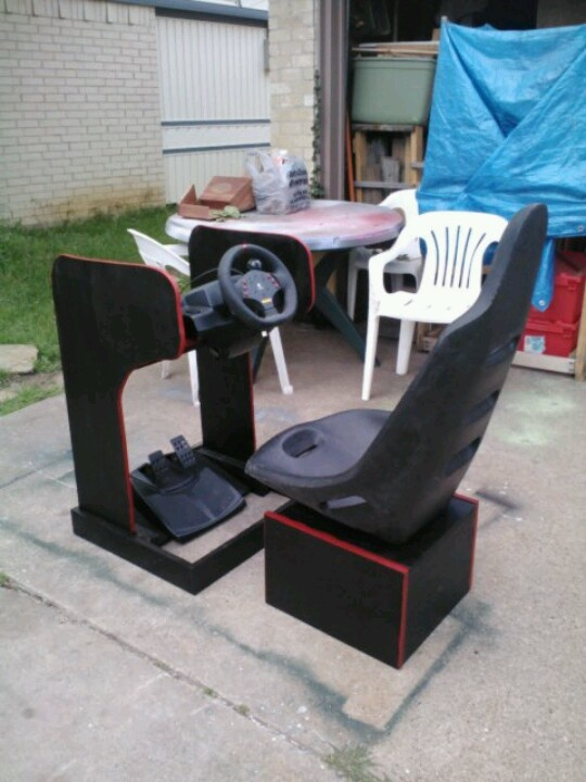 39 Best Diy Sim Rig Images On Pinterest Racing Gaming Chair And Projects