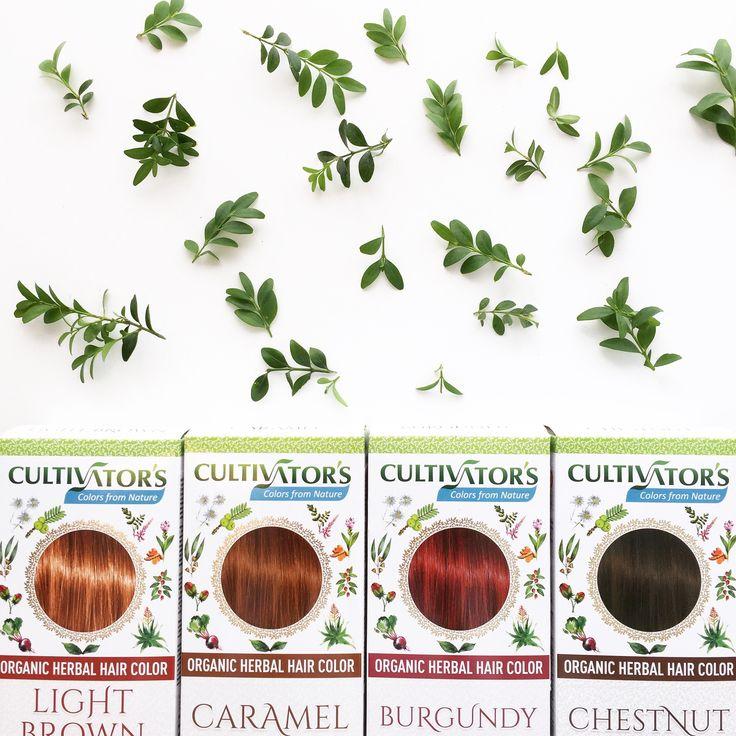 Nya 100% ekologiska hårfärger från Cultivator's! De har ursnygga och hållbara hårfärger som är helt växtbaserade. Stärker håret och gör det fylligare, friskare och glansigare! Färga så ofta du vill utan att skada håret, hälsan eller vattenlivet.   #hårfärg #ekolohiskhårfärg #cultivators
