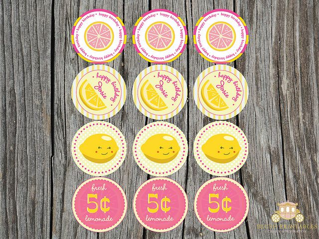 When life gives you lemons... make super cute lemonade party.Bday Ideas, 1St Bday, Baby Shower