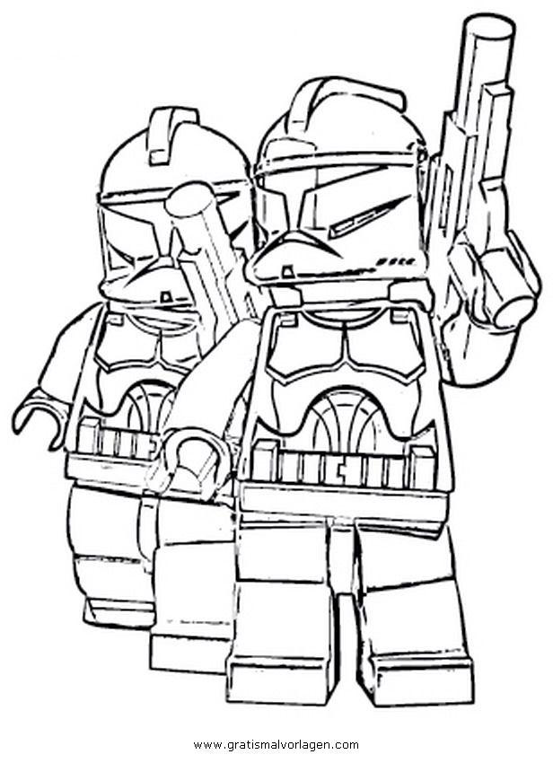 Ausmalbilder Lego Star Wars Trickfilmfiguren 828 Malvorlage Lego