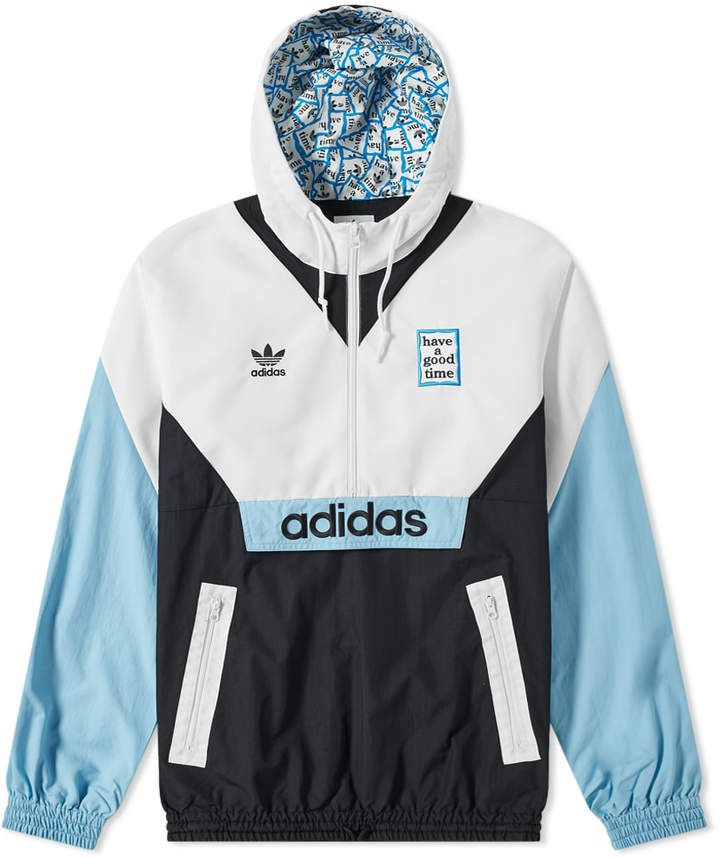 Adidas x Have A Good Time Windbreaker in 2020 | Adidas