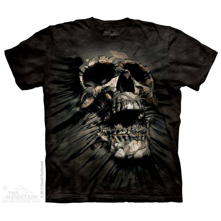The Mountain Breakthrough Skull T-Shirt