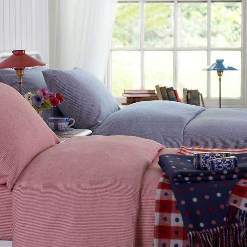 Chamonix Flannelette Bed Linen - Cologne & Cotton