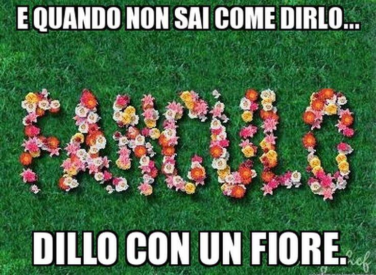 Dillo con un fiore!