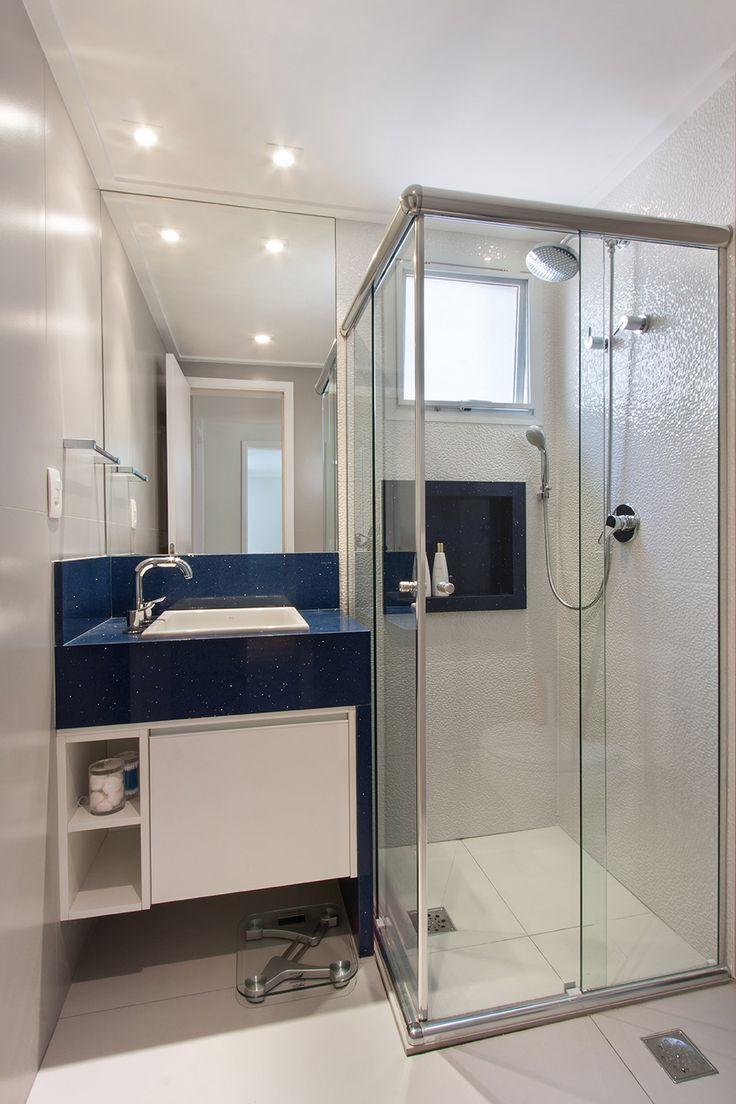 Banheiros 2 ana l cia salama arquitetura e for Salle de bain attenante