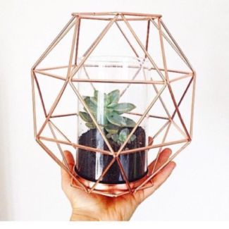 Kmart Geo Copper Candle Holder/Vase Russell Island Redland Area Preview Home decor Pinterest ...