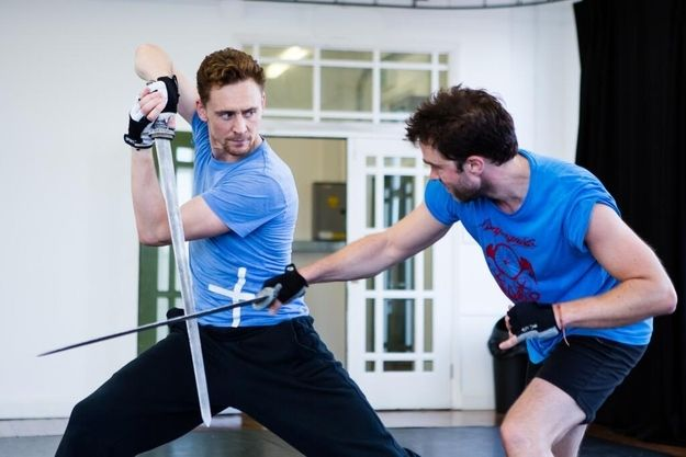 Tom Hiddleston Wielding A Sword Is Pretty Much The Hottest Thing Ever