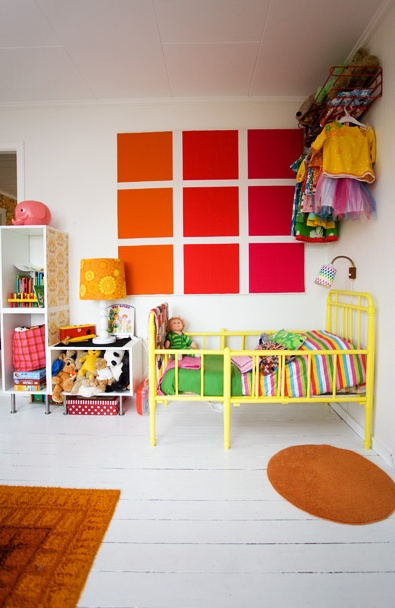 Nordic girls room